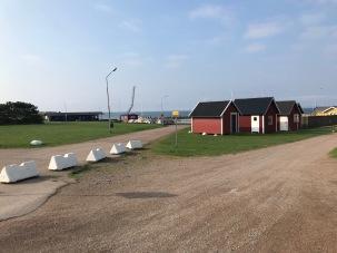 Hamnen i Vejbystrand