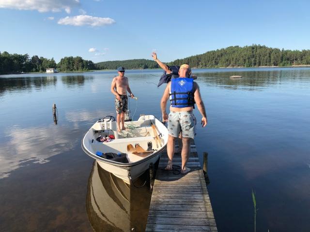 Erik Thiberg är riktigt grym på att köra båt