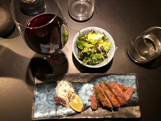 Japansk mat på Mr Vonn. Gott!