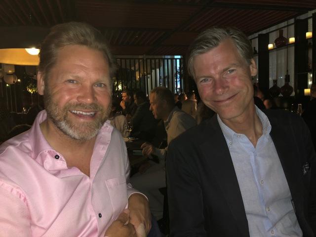 Magnus Lönnqvist och Carl Westling. Calles bror Jakob har varit med på skidläger med mig och var den person som fick mig att blogga igen efter ett uppehåll för ett gäng år sedan. Spännande att se hur de två bröderna har samma kroppsspråk och samma sätt att uttrycka sig.