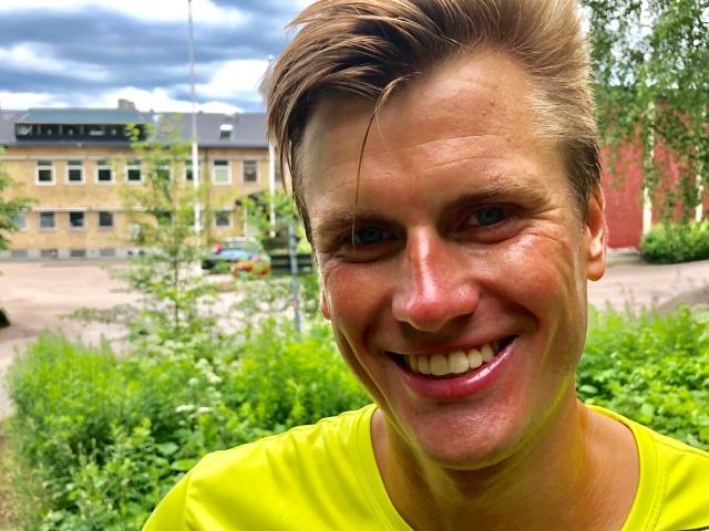 Linus Wirén är en ultralöpare av rang. Från Borås såklart, men springer numer för Hälle.