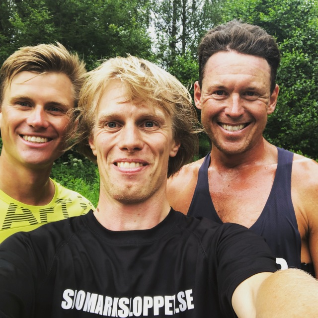 Linus Wirén, Erik Wickström och Jonas Colting. 25, 35 resp 45 år.