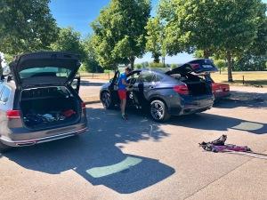 Margretetorps gästgivaregårds parkering