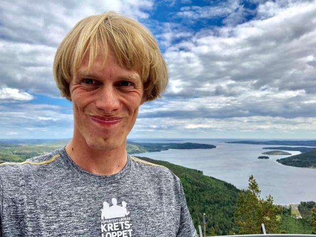Skuleberget-selfie