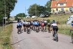 Cykel-SM Båstad damerna linjelopp. Västra Karup.