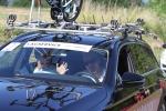 Team Ormsalvas hade drömuppställningen i sin servicebil: Ove Nilsson, Christofer Stevensson och Rickard Bergengren.