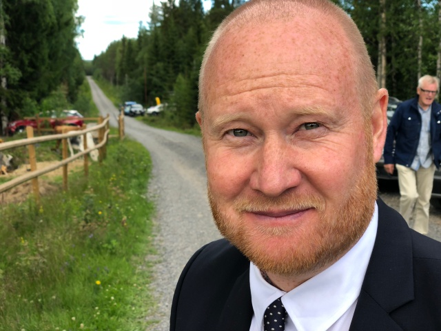 Mattias Pettersson jobbar på SVT och är producent för bl a Vasaloppet