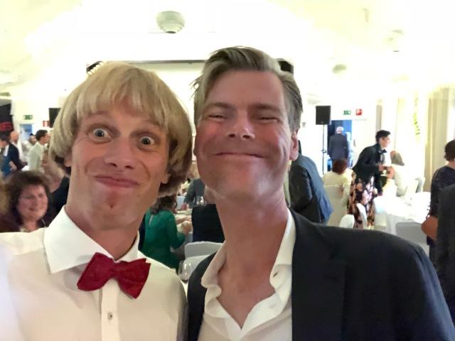Carl Westling är gift med David syster och är även bror till Jakob Westling