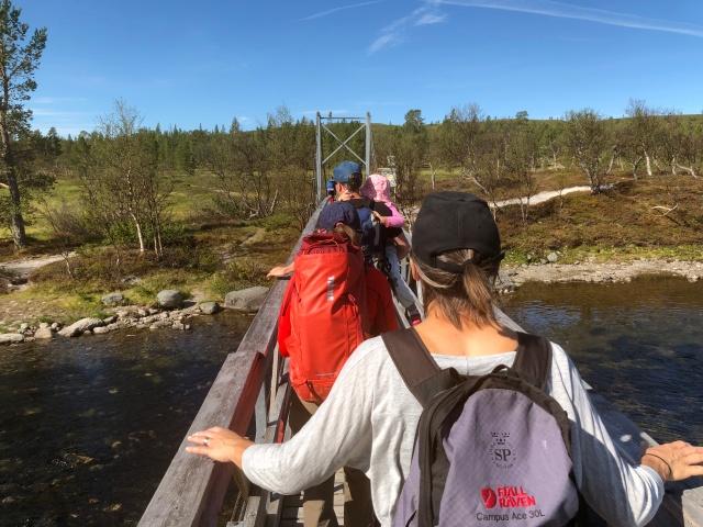 Bron vid Sjöstugan i Grövelsjön