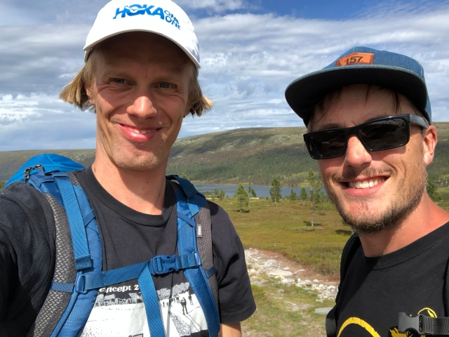 Erik Thiberg och jag