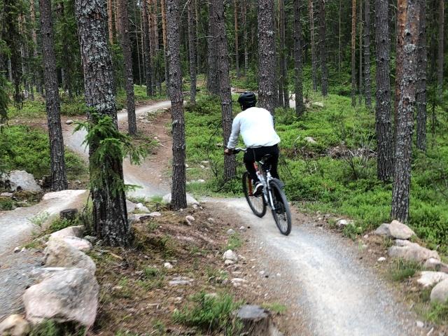 Mountainbike i Trysil