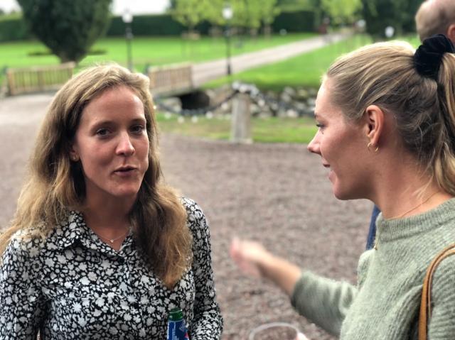Andrea Bergengren och Rebecka Grenlöv.