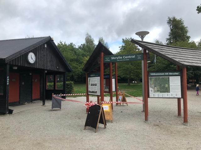 Skryllegården utanför Lund