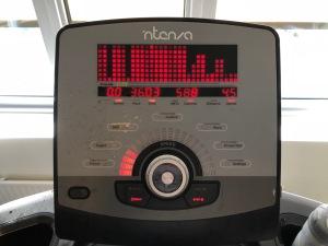 Generellt tycker jag löpband på gym är väldigt bra
