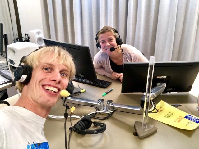 P4 Sjuhärad med Kristin Holmberg. Jag gillar att vara med i radio! En av få gånger jag tackat nej var när de undrade om jag ville kommentera Therese Johaugs dopningsdom.