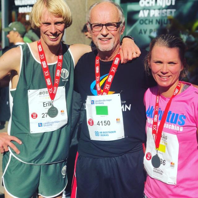 Jag, min far Ulf Wickström (56 min) och min syster Ellen Lindell (47 min)