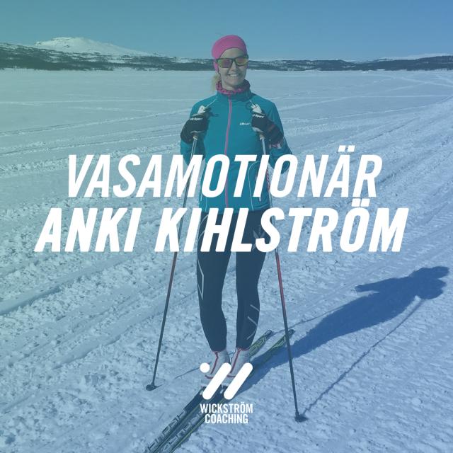Vasamotionären Anki Kihlström