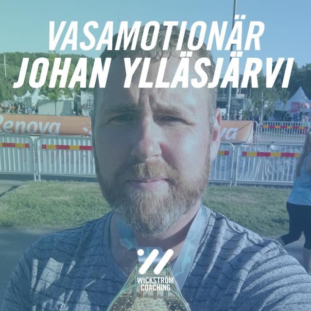 Vasamotionären Johan Ylläsjärvi