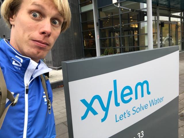 Föreläsning om konditionsträning för nybörjare och motionärer på Xylem i onsdags