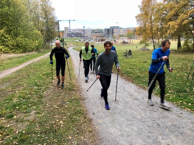 Skidgång i Ursvik