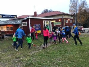 Skidträning för barn och ungdomar i Hestra IF. Barmarksträning.