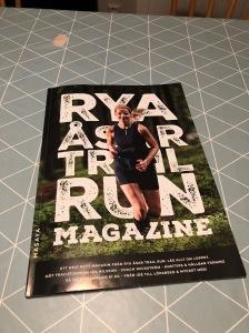Rya Åsar Trail Run Magazine 2018 omslag