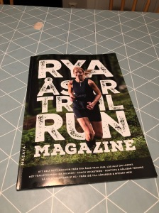 Rya Åsar Trail Run Magazine 2018 omslag
