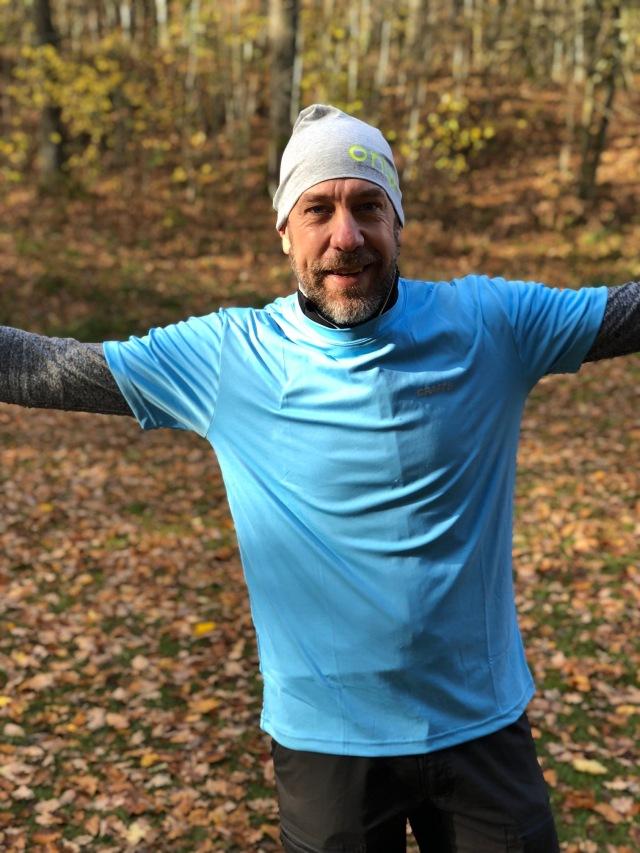 Niklas Ivarsson, initiativtagare till Rya Åsar Trail Run