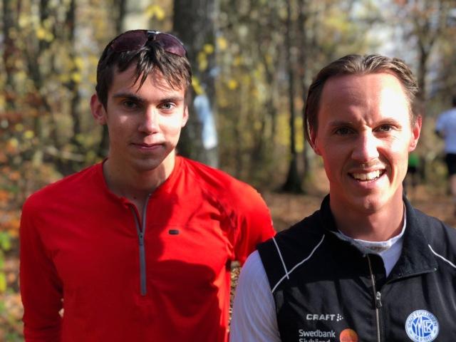 Tobias Andervang och Jakob Böhm