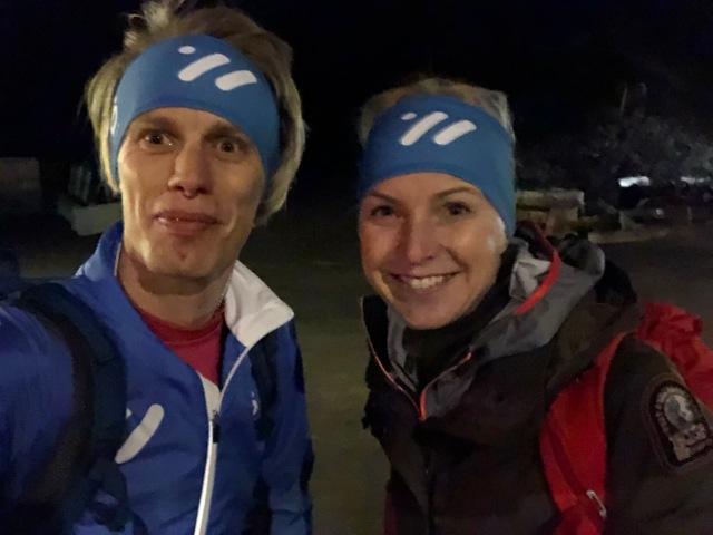 Camilla Antonsson driver Pure Skitouring som erbjuder topptursresor till bland annat Svalbard, Japan, Jotunheimen och Tarfala.