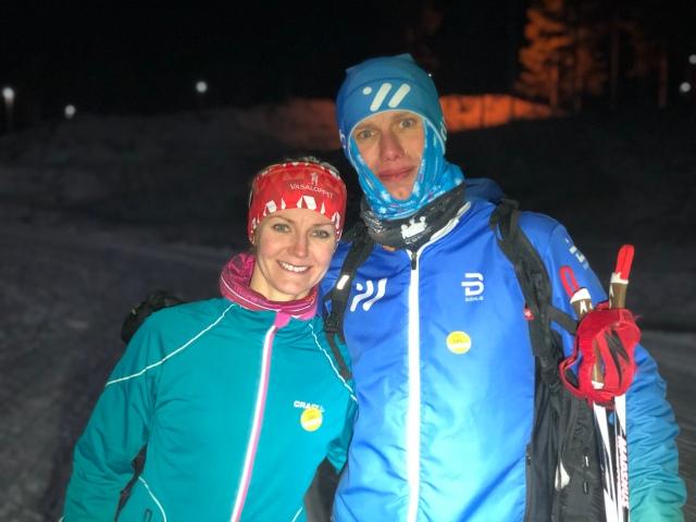 Anki Kihlström Kvarmans är en av två Vasamotionärer i Wickström Coaching. Hon blev utvald av 525 sökanden att få träningsprogram, läger, kläder från Dahlie Sportswear, styrkeredskapet Skigrip, Staffanstavens rullskidstavar, sportnutrition från +Watt samt komplett skidutrustning från Madshus. Nu har hon tränat ett par månader med Wickström Coaching och varit på läger i Grönklitt.