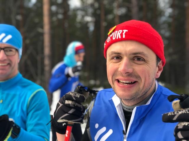 Erik Westberg, en av fyra Erikar på lägret