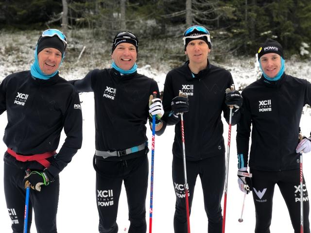 XC STHLM med Stefan Johansson, Björn Haring, Anders Böhlmark och Anders Boström var i Orsa på läger och körde hårt.