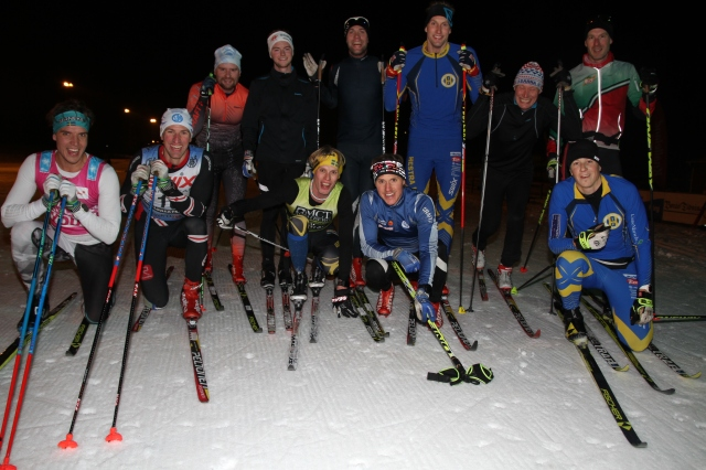 Bakre raden: Sebastian Backlund, Petter Persson, Magnus Sjöbjer, Kristian Olofsson, Johan Söderberg och Mattias Bryntesson. Främre raden: Rickard Bergengren, Johan Kanto, Erik Wickström, Jakob Böhm och Henrik Litzell.