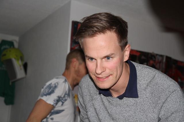 Magnus Samuelsson bor i Landvetter och kommer från Hedared. Helst av allt skulle han nog jobba i skogen.