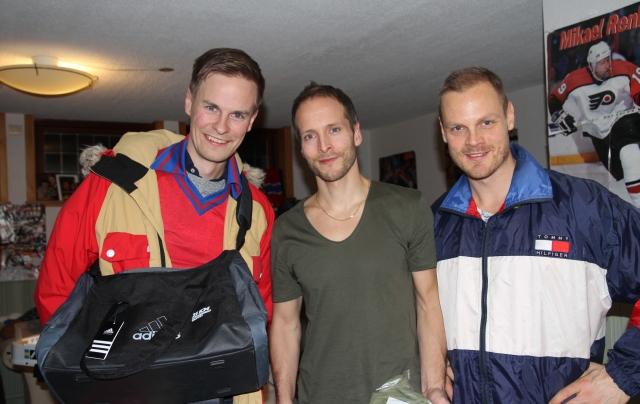 1:a Anders Martinsson. 2:a Magnus Samuelsson. 3:a Bizze Wing. Bra priser!