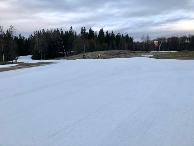 Borås skidstadion 10 dec 2018