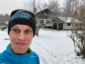 Efter ett löppass i Borås 18 december