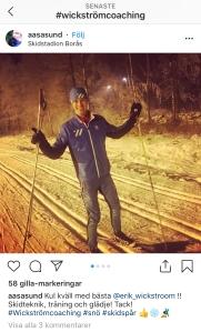 Teknikkurs längdåkning Borås.