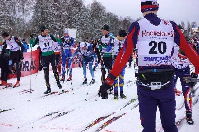 Inför start Borås Ski Maraton 2019