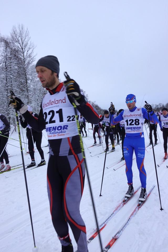 Borås Ski Maraton 2019. Starten.