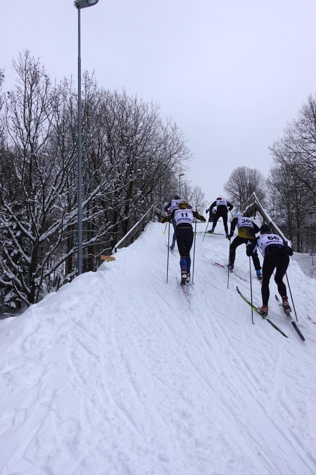 Intersportbron på Borås Skidstadion