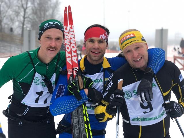 Emil Lundborg, Robert Malmgren och Viktor Fritzon. Emil sade glädjande att