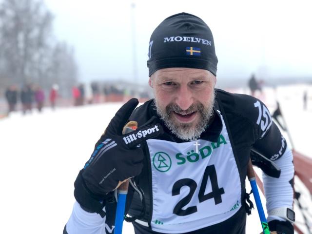 Stefan Palm efter Ulricehamnsloppet 2019