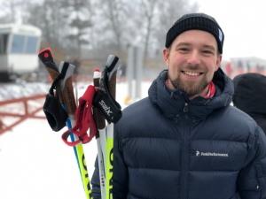 Daniel Abrahamsson, aka Traddarn, åker inte så mycket skidor längre. Men han umgås trevlig nog fortfarande med oss skidåkare.