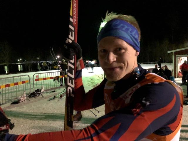 Wiktor Broder från Nybro har ungefär lika många snöpass i vinter som han har åkt seedningslopp. Igår en ny imponerande insats som 11:a.