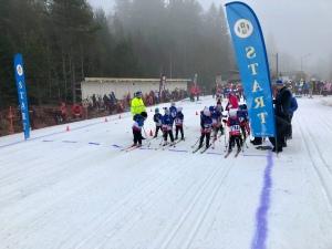 Linnévasan 2019 starten damer 0-6 år.