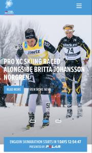 Pro Skiing/Visma Ski Classics. Britta Johansson Norgren Vasaloppet.