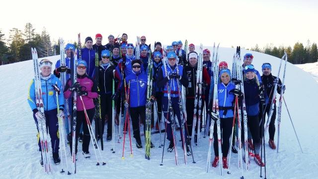 Wickström Coaching läger Orsa 2018