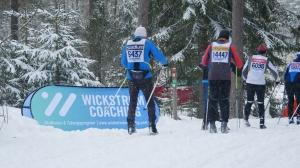 Wickström Coaching hade en egen kontroll för adepterna i Läde på Vasaloppet